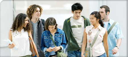 A photo of a group of students.